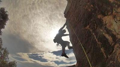 arrampicare a baunei